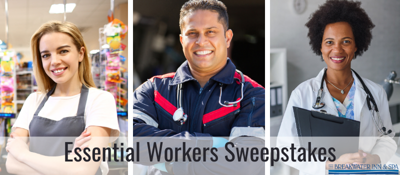 Breakwater Essential Workers Sweepstakes